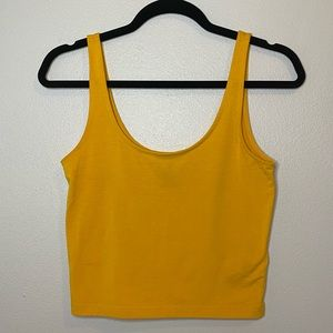 Cropped Tank Top!